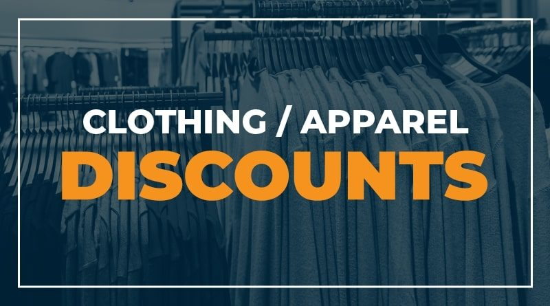 Clothing and Apparel Discounts for Healthcare Workers and First Responders