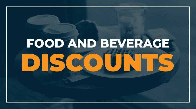 Food and Beverage Discounts for Healthcare Workers and First Responders