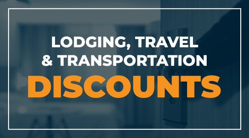odging Travel and Transportation Discounts for Healthcare Workers and First Responders
