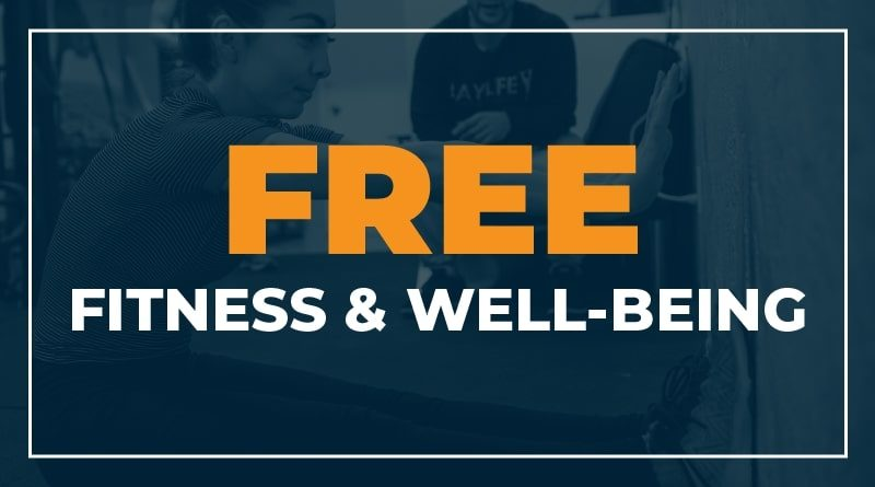 Free Fitness and Well Being for Healthcare Workers and First Responders